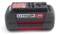 36V Ion Battery for Conveyor Accessories Riv-Nail rapid install system battery-powered hammer