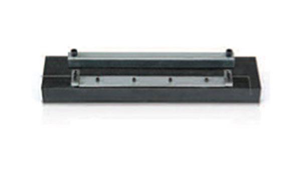 Steelgrip™ belt holder to help install flexible steel belt lacing.